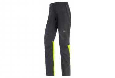 Pants GORE Wear GTX Paclite Black Yellow Fluo