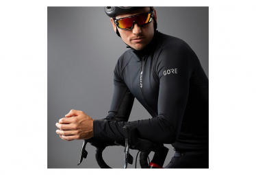 Maillot Manches Longues GORE Wear C5 Thermo Noir Gris