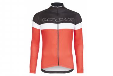 Look Optimum Long Sleeve Jersey Black / Red