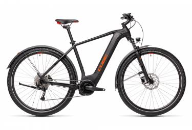 Bicicleta Híbrida Eléctrica Cube Nature Hybrid One 625 Allroad 700 Noir