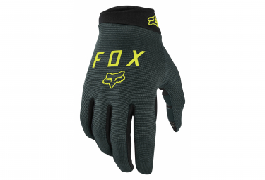 Pair of Long Gloves Fox Ranger Green