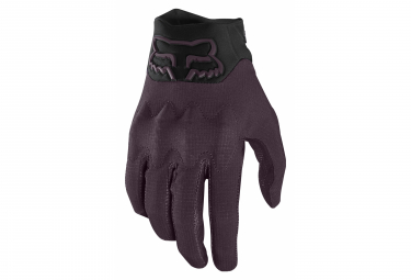 Par de guantes largos morados Fox Defend D3O