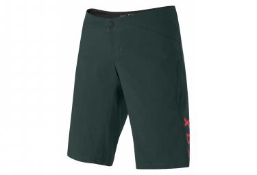 Shorts Ajustados Para Mujer Fox Ranger Verde S