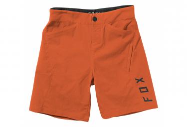 Shorts De Nino Fox Ranger Con Piel Naranja 26
