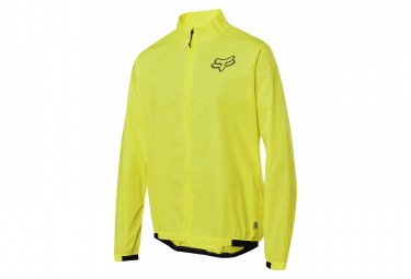 Veste Fox Defend Wind Jaune Fluo