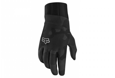 Fox Defend Pro Fire Long Gloves Black Camo