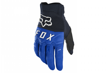 Paire de Gants Longs Fox Dirtpaw Bleu