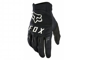 Paire de Gants Longs Fox Dirtpaw Noir/Blanc