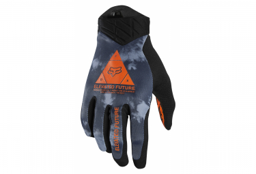 Paire de Gants Longs Fox Flexair Elevated Bleu