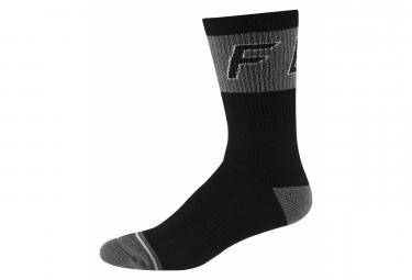 Pair of Fox 8 '' Winter Socks Black