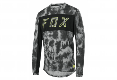 Maillot Manches Longues Fox Ranger Elevated Noir