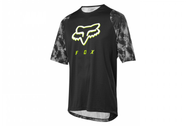 Fox Defend Elevated Short Sleeve Jersey Schwarz