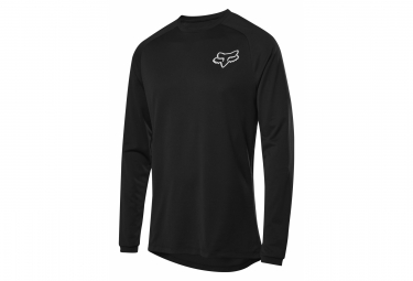Fox Tecbase Long Sleeve Base Layer Black
