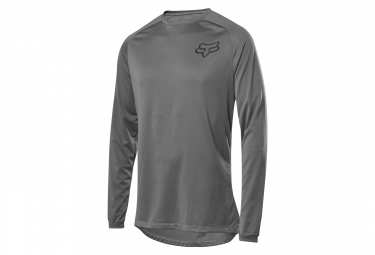 Fox Tecbase Long Sleeve Base Layer Gray