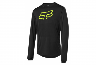 Fox Ranger Foxhead Long Sleeve Jersey Black