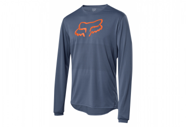 Fox Ranger Long Sleeve Jersey Foxhead Blue