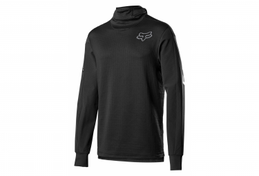Fox Defend Thermo Long Sleeve Jersey Black