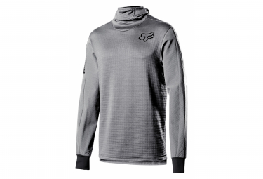 Fox Defend Thermo Long Sleeve Jersey Gray