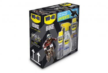 WD40 Bike Maintenance Pack (Cleaner 500ml + Oil All Conditions 250ml + Degreaser 50ml)