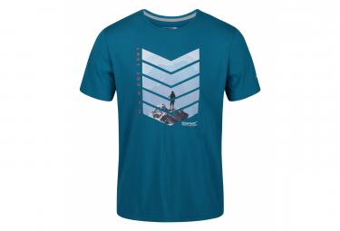 Regatta - T-shirt imprimé BREEZED - Homme (Bleu sarcelle) - UTRG4945