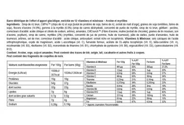 Barre Énergétique CLIF BAR Myrtilles 68g