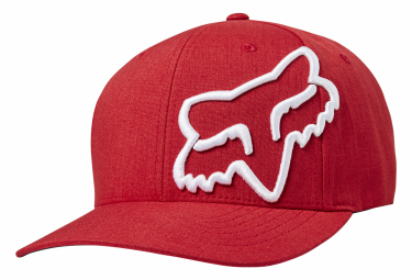 Gorra Fox Clouded Flexfit Rojo   Blanco S M