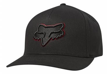 Gorra Fox Epicycle Flexfit Negro / Rojo