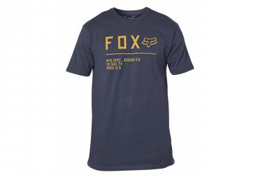 Fox Non Stop Kurzarm T-Shirt Marineblau