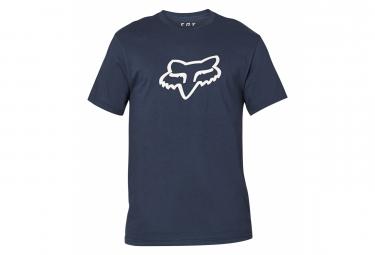 Fox Legacy Camiseta De Manga Corta Foxhead Azul Marino M