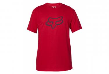 Fox Legacy Foxhead Camiseta De Manga Corta Roja Xl