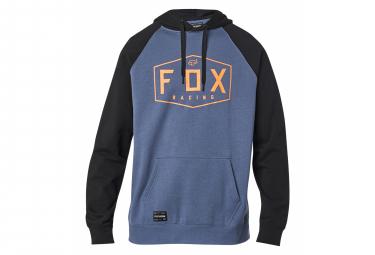 Fox Crest Hoodie Blau