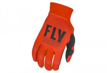Guantes Fly Pro Lite 2021 Rojo   Negro M