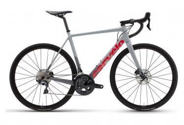 Vélo de Route Cervélo R-Series Disc Shimano Ultegra 8000 11V Gris/Rouge 2021
