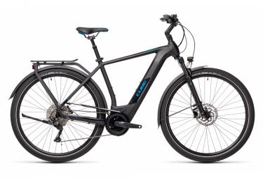 Bicicleta Ciudad Eléctrica Cube Kathmandu Hybrid Pro 625 700 Noir