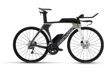 Bicicleta Triatlón Cervélo P5 Disc Shimano Ultegra Di2 8050 11V Carbon / Moss 2021