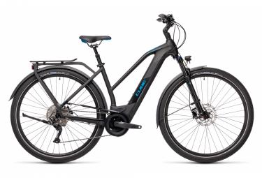 Bicicleta Ciudad Mujer Cube Kathmandu Hybrid Pro 625 Trapeze Noir