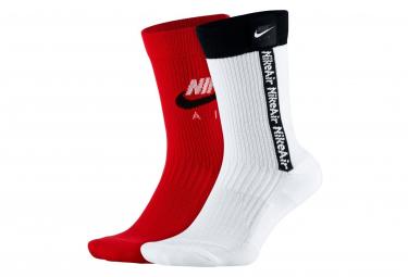 Paires de chaussettes Nike AIR SNKR Multicolor