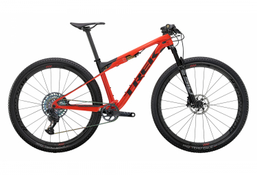 MTB Doble Suspensión Trek Supercaliber 9.9 29'' Rouge / Noir 2021