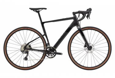 Gravel Bike Cannondale Topstone Carbon 5 Shimano GRX 11V 2021 Gris / Noir