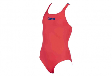 Arena Solid Swim Pro Jr One-piece Swimsuit Red Girls