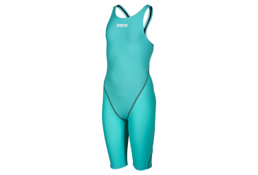 Powerskin St 2 0 Traje De Bano De Neopreno Con Espalda Abierta Azul Turquesa Aguamarina Mujer 36