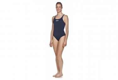 Banador De Una Pieza Arena Swim Pro Negro Blanco Mujer 42