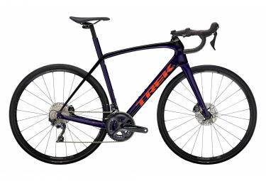 Bicicleta de carretera Trek Domane SL 6 Disc Shimano Ultegra 11S Purple Abyss / Trek Black