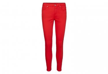 Pantalon rouge femme Vero Moda Hot seven