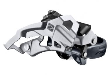 Dérailleur Avant Shimano Alivio Trekking M4000 3x9V Collier Bas 28.6/31.8/34.9mm Dual Pull