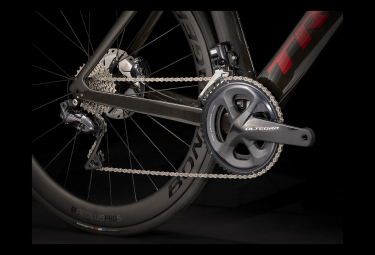 Vélo de Route Trek Madone SLR 7 Disc Shimano Ultegra Di2 Carbon Smoke/Crimson 2021