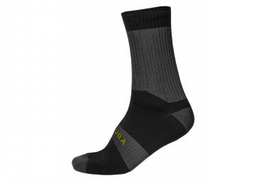 Paar Endura Hummvee II Socken Grau / Schwarz