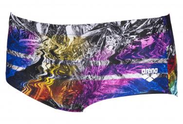 Arena Iridiscent Stripe Low Waist Short Multi-Color Swimsuit