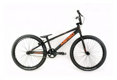 Image of Bmx race meybo clipper pro 22 noir orange gris 2020