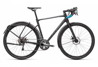 Bicicletta Gravel Cube Nuroad Pro FE Shimano Tiagra 10S 700 mm Nero 2021